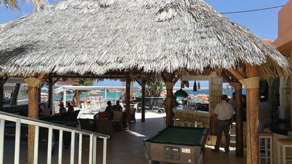 Bar na plaży.