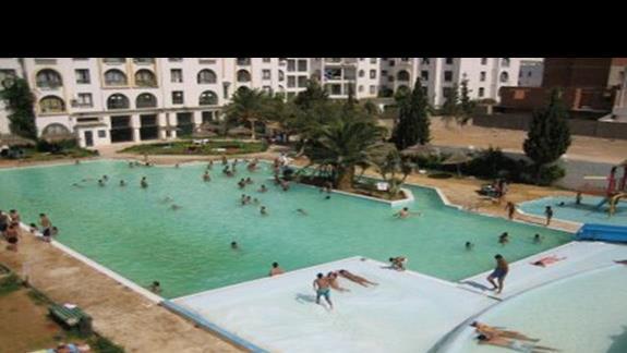 Widok na baseny